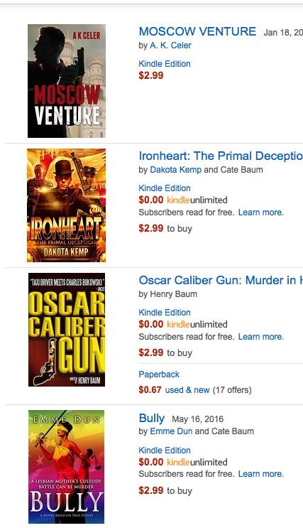 Kwill Books on Amazon